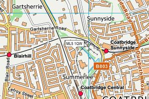 coatbridge map