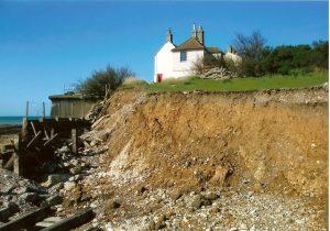 coastal erosion sussex coast