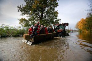 Fishlake flooding 2019