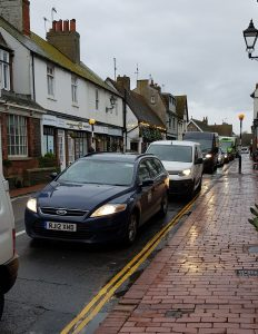Rottingdean High Street Traffic Congestion