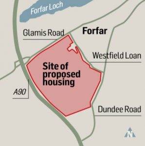 forfar development location