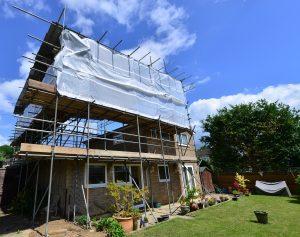 upward house extension